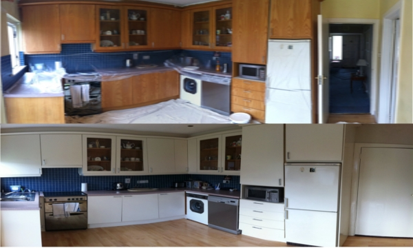 hand painted kitchens in dublin area